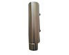 Washroom, 320ml Polished Solid Stainless Steel Single Dispenser
